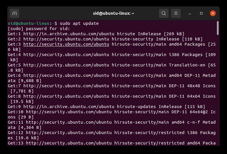 update-repository