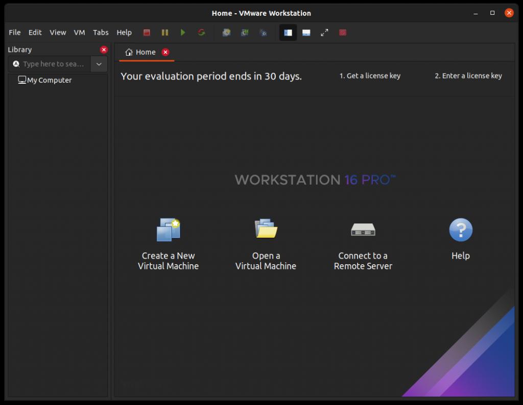 vmware-install-successful